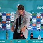 Lo sfottò a Ronaldo