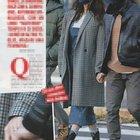 """Belen Rodriguez, look """"materno"""" mentre passeggia col fidanzato Antonio Spinalbese (Foto: Chi)"""