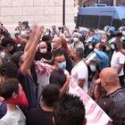 Salvini a Piazza Matteotti, accesso blindato ai contestatori