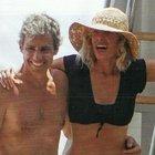 Alessia Marcuzzi in barca con il marito dopo le voci del flirt con Stefano De Martino