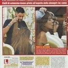 Alba Parietti dal parrucchiere (Nuovo)