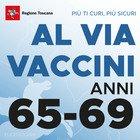 Vaccini Toscana, da domani aprono le prenotazioni