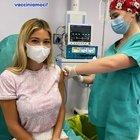 Diletta Leotta si vaccina, l'appello social: «Facciamolo tutti»