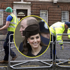 Royal Baby numero 3, Kate ha già partorito? «Transenne davanti all'ospedale»