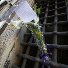 Strage Capaci, fiori davanti alla sede della Direzione Nazionale (Foto Paolo Rizzo/Ag.Toiati)