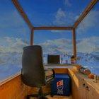 Cortina, la cabina per lo smart working è a 2400 metri di quota