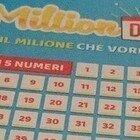 Million Day, i cinque numeri vincenti di lunedì 18 gennaio 2021