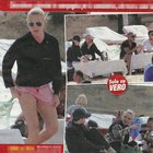 Paola Barale in vacanza a Ibiza con gli amici (Vero)