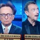 """I Soliti Ignoti, Amedeo Goria """"viola"""" il regolamento. Amadeus s'infuria: «Ma che fai?». Fan increduli: «È nero»"""