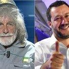 Salvini su Mauro Corona: «Nel suo paese ha vinto la Lega, brinderò dalla sua amica Berlinguer»