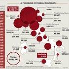Ecco l'incidenza dei positivi sugli abitanti: male Lombardia (0,88%), ma peggio Val d'Aosta
