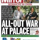 Harry e Meghan, le prime pagine dei giornali britannici