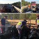 Ubriaco alla guida travolge un'auto nel barese: tre morti carbonizzati