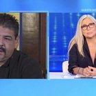 Hugo Maradona a Domenica In, le lacrime e il dolore per la morte del fratello