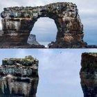 Galapagos, crolla l'arco di Darwin: a rischio l'ecosistema subacqueo