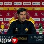Roma-Benevento, Fonseca: «Florenzi? È voluto è andare via, avevo bisogno di lui»