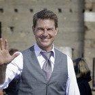 """Tom Cruise a Tivoli su una moto per le prove di """"Mission Impossible 7"""""""