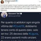 Selvaggia Lucarelli: «Uno di loro paga lo stipendio a tua moglie»