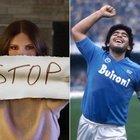 Maradona, Laura Pausini: «In Italia fa più notizia la morte di un uomo poco apprezzabile che la violenza sulle donne»