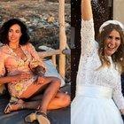 Caterina Balivo alle nozze della sorella Sarah, il micro-vestito va su... Ma un dettaglio fa infuriare i fan: «Non è possibile...»