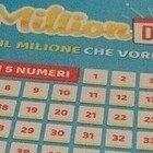 MillionDay, i cinque numeri vincenti di sabato 24 aprile 2021