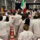 Tokyo 2020, l'ingresso dell'Italia: il video di Montano