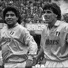 Maradona, il ricordo di Zola, erede nel Napoli: «Il più grande di tutti. Ci mancherai»
