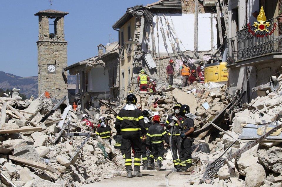 Terremoto, sindaco di Amatrice: