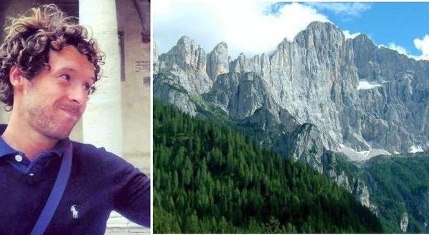 Incidente in montagna, muore a 31 anni Marco Michielon