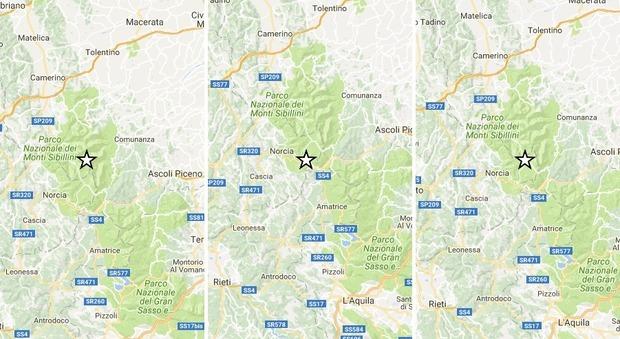 Terremoto, la terra continua a tremare. Frana blocca la Salaria