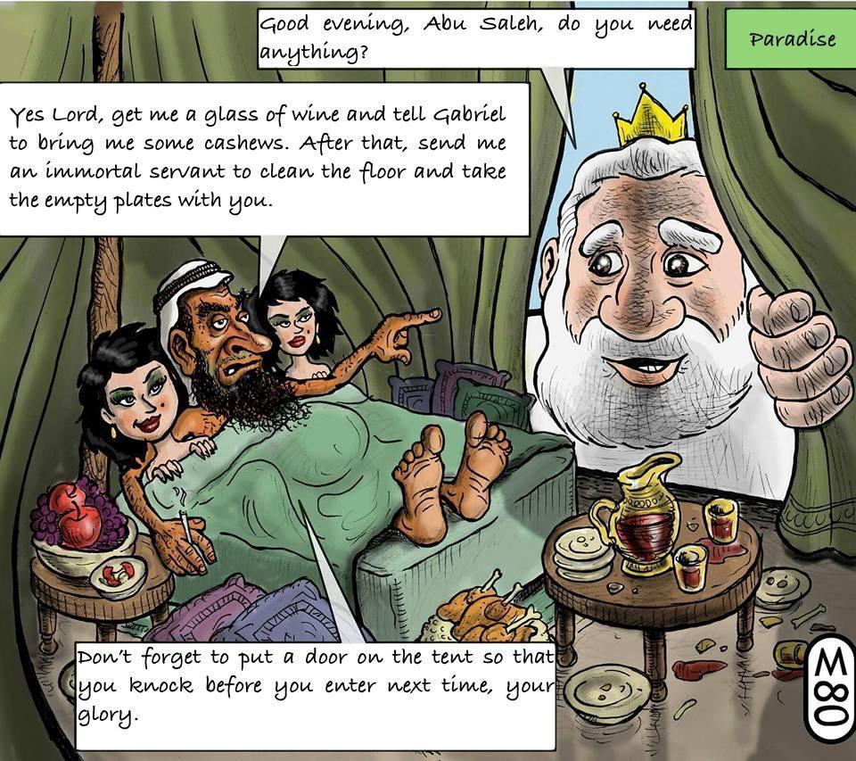 Nahed Hattar, cristiano assassinato per vignetta blasfema