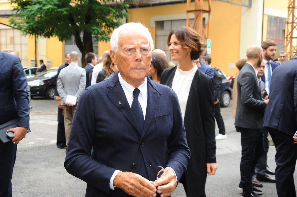 Renzi a Milano per l'apertura della settimana di Moda Donna
