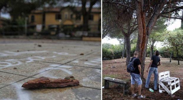 Roma, due uomini colpiti da un fulmine in un parco: sono gravi