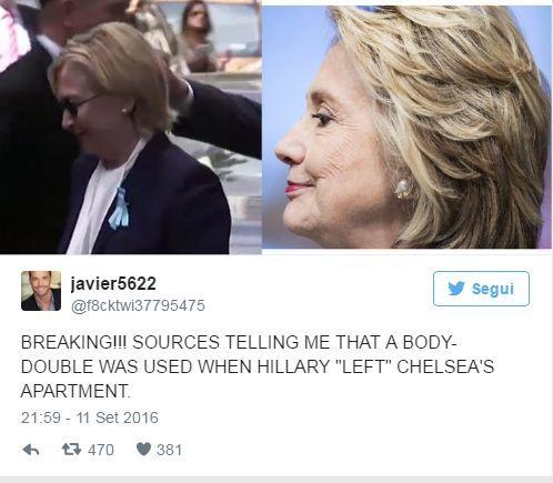 Hillary Clinton, il corpo della leader