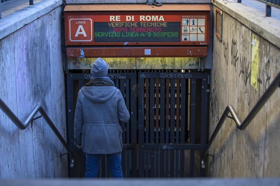 Terremoto avvertito anche a Roma, attimi di paura a Ponte Milvio