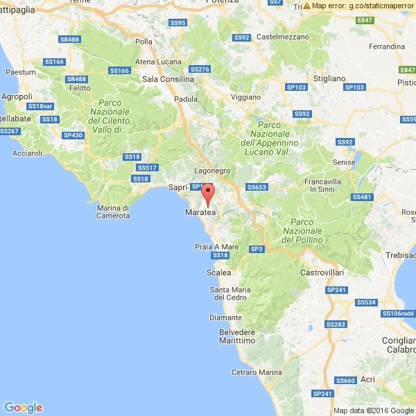 Scossa di terremoto di 4,3 a Maratea, nel basso Cilento