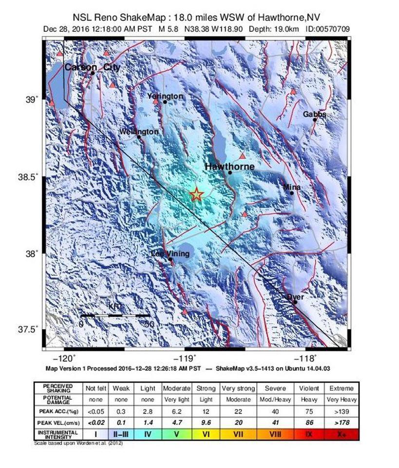 Terremoto: scossa 3.4 nel Reggino, non segnalati danni
