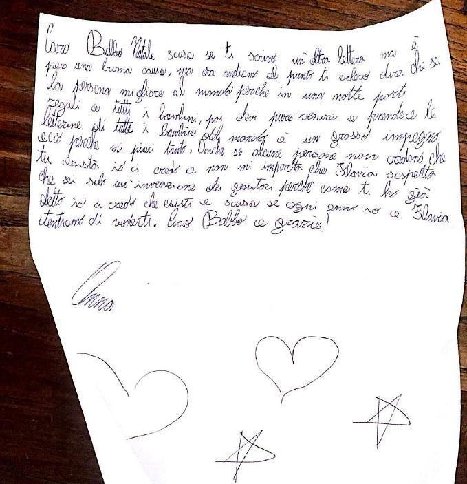 Regali Di Natale Per Bambini Di 8 Anni.A 8 Anni Scrive Una Lettera A Babbo Natale Il Contenuto Commuove Il Web