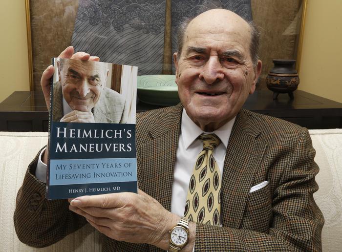 Morto Henry Heimlich, l'inventore della manovra salvavita