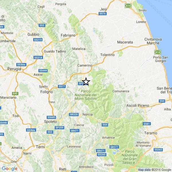 Nel centro Italia continua a tremare la terra