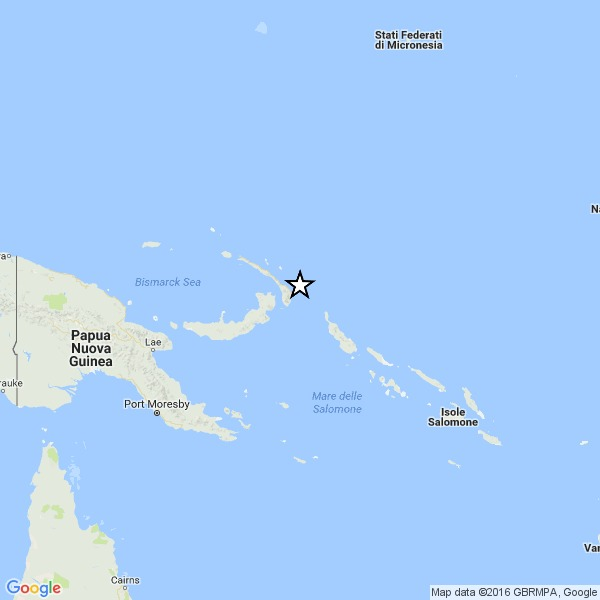 Terremoto Papua Nuova Guinea: nuova potentissima scossa