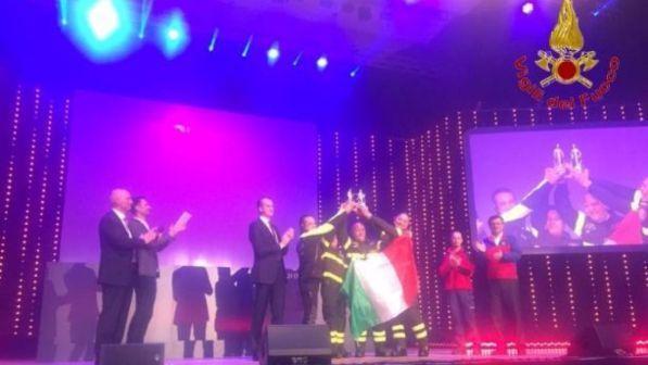Magirus Award, i vigili del fuoco italiani migliore squadra 2016