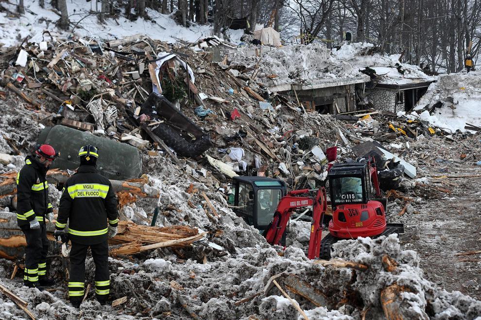 Sei indagati per la tragedia di Rigopiano: sono amministratori e funzionari