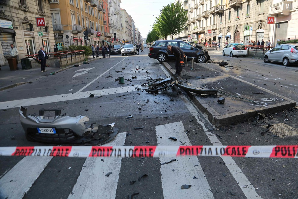 Incidente mortale a Milano. Il pirata fugge