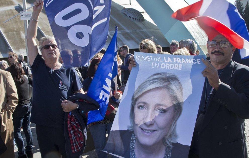 Le elezioni in Francia e quella MANCIATA di voti