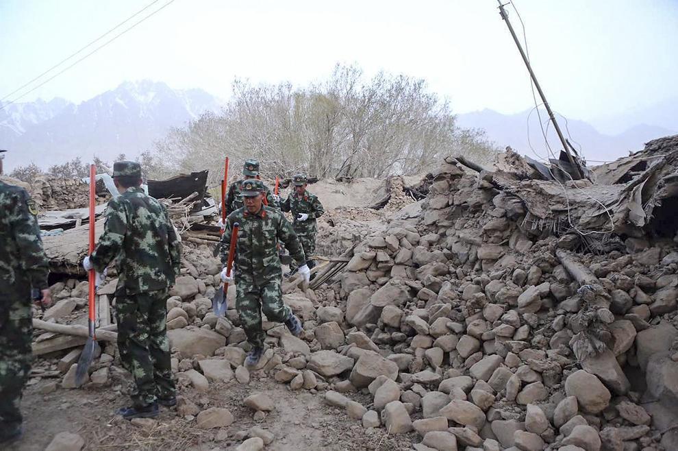 Violento terremoto nella contea di Taxkorgan: 8 morti e 11 feriti
