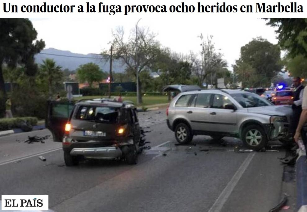 Spagna, auto contro la folla a Marbella: feriti, arrestato il conducente