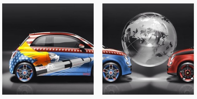 Lapo Elkann e la Fiat 500 Kar_masutra: il nuovo progetto