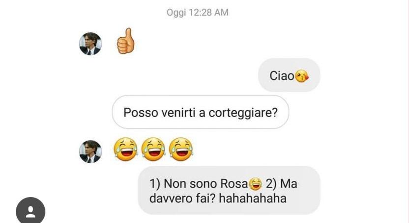 Pippo Inzaghi vorrebbe corteggiare Rosa Perrotta di Uomini e Donne