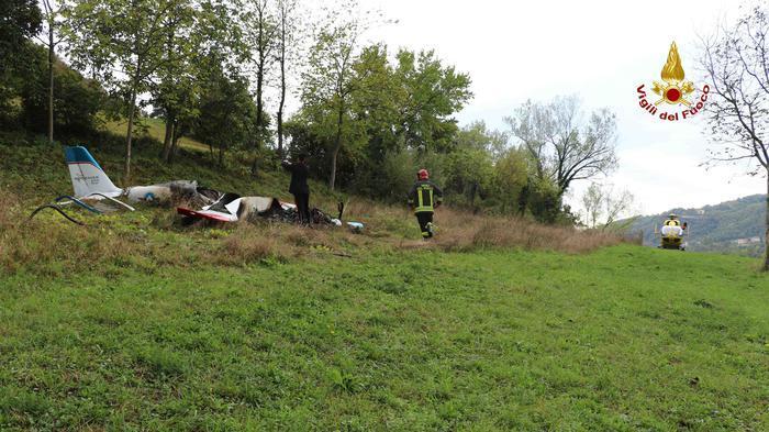 Vicenza, cade un ultraleggero: un morto